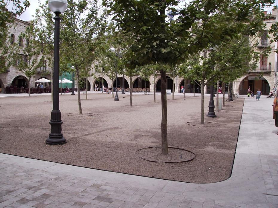 Remodelació plaça Major (Banyoles)